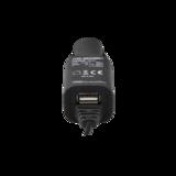 Universal Autoladegerät mit Micro USB 2 Kabel und zusätzlichem USB-Port_