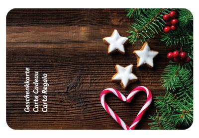 Design Weihnachten Holz
